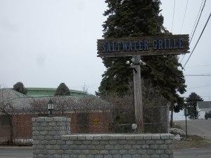 Saltwater Sign